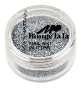 Manhattan Rouge La La Nail Art Glitter - Брокат за маникюр -