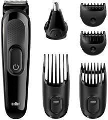 Braun Multi Grooming Kit MGK3020 6 In One - Тример за лице и коса -
