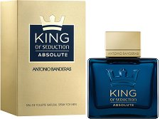"Antonio Banderas King of Seduction Absolute EDT - Мъжки парфюм от серията ""Seduction"" -"