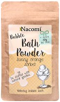 Nacomi Sunny Orange Sorbet Bath Powder - Пудра за вана с аромат на портокал -