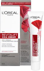 L'Oreal Revitalift Cicacream Day Cream - Дневен крем за лице против бръчки с азиатска центела -