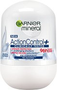 "Garnier Mineral Action Control+ Anti-Perspirant Roll-On - Ролон дезодорант от серията ""Deo Mineral Action Control+"" -"
