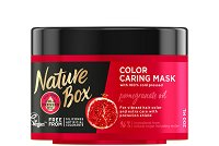 Nature Box Pomegranate Oil Color Caring Mask - Маска за боядисана коса с масло от нар -